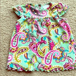 Vera Bradley baby tutti frutti paisley dress